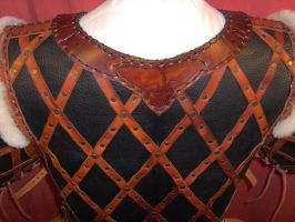 Leather armor - back detail by Laerad