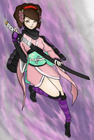 Momohime, the Cursed Princess by tiagorcp