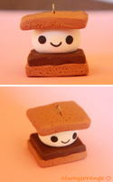 S'more Charm by alwaysorange
