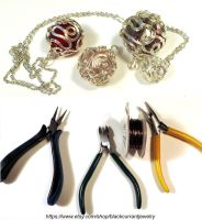 PDF Tutorial on ETSY by blackcurrantjewelry