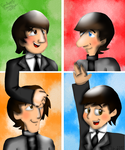 The Beatles Cartoon - 2015 Edition by CJSilverBeatle