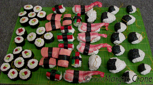 Sushi Ornament Sampler- 3 by MorganCrone