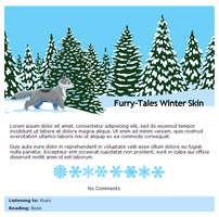Furry-Tales Winter journal skin by Stygma