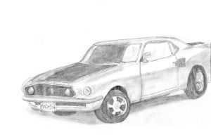 1969 Ford Mustang by audreydc1983