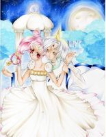 Helios x Chibiusa - United in a Dream by SaachiPu