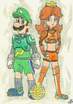 Strikers Charged: Luigi and Daisy by Villaman89