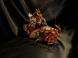 Blood Throne of Khorne by DeathShadowSun