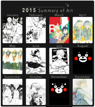 2015 Summary of Art by sayok0