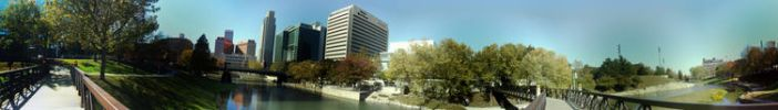 Panorama Of a Park in Omaha by kaysijae