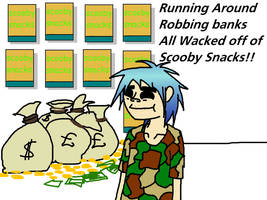 2-D Scooby Snacks by FoxTail8000