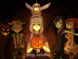 Dobutsu: Happy Halloween by aLyTeh