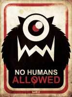 no humans allowed id by LACHI17