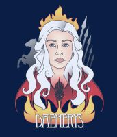 Daenerys Crest by KindaCreative