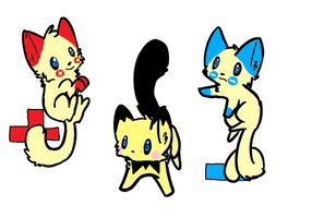 Pokemon Cat Adoptables 5 Open by Raysaur