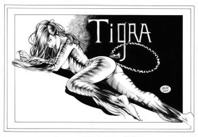 Tigra by MichaelBair