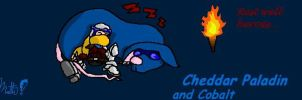 Cp and Cobalt at Rest by cheddarpaladin