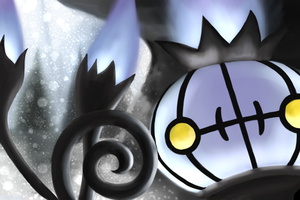 Chandelure - snow by shemara