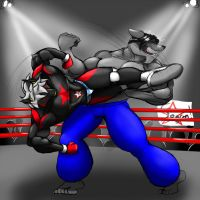 Almost a knockout by kadmiel-Dyne