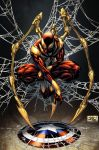 Iron Spider tribute by spidermanfan2099