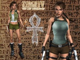 Outfits of Tomb Raider IV by EscorpioTR