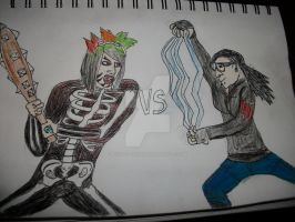 Dahvie Vanity VS Skrillex (READ DESCRIPTION) by rockstarcrossing