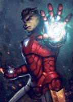 AVENGER- IRON MAN by Scyao
