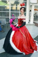 The Queen of Hearts by popecerebus