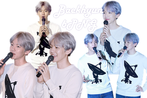 EXO Baekhyun PNG Pack {SMTOWN THE STAGE} by kamjong-kai