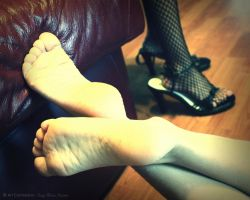 Young Feet by TanyaMarieReeves