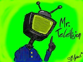 Mr. Television here! by 9-Heart