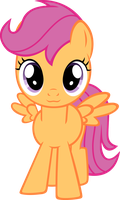 Scootaloo murder with adorableness by RatchetHuN