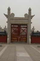 Gate - Temple of Heaven by rensstocknstuff