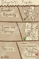 SKYRIM: Prejudice by Adonis-Batheus