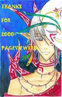 Thanks for 2000+ pageviewers by HellSiNLordZ