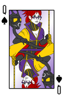 Kathryn, Queen of Spades by SuichiTanaka