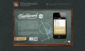 iBlackboard for iPhone 4 by iconnice