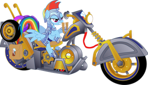 Rainbow Dash playing WoW by PsychicWalnut