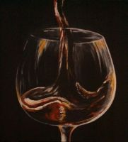 Wine Glass Three by DemonRed6