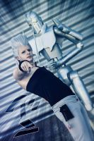 Polnareff and Silver Chariot by BleankasBleank