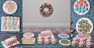 Christmas Party Dessert Table 1:6 Scale by kingofthebutterflies