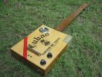 Cubao Cigar Box Guitar by renegadecow