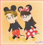 Mickey and Minnie Costumes by MujakiKid