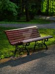 Bench in the park by 75ronin