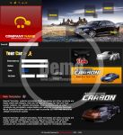 Cars company Website template by Telpo