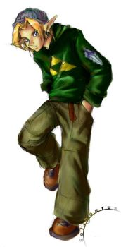 Link by solipherus