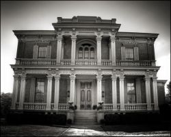Haunted Mansion by existentialdefiance