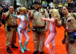 C2E2 2015 Mario Kart and Ghostbusters by kilroyart