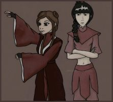 How Azula entertains herself c by lilfirebender