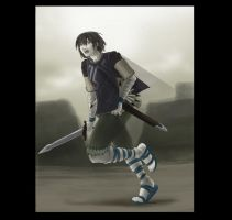 Ico - Shadow of Colossus COLOR by pyrogina