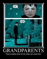 Damian's Grandparents by OtakuSapien